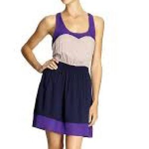 TINLEY ROAD sweetheart color block dress size XS